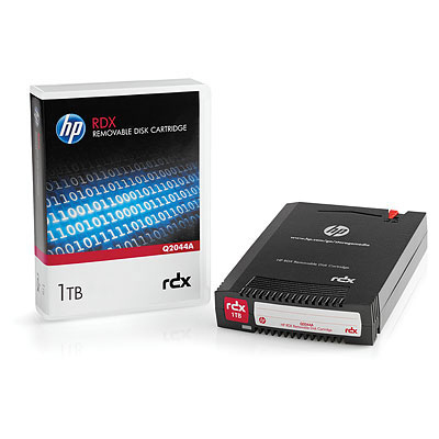HPE 1TB RDX REMOVABLE DISK CART
