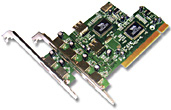 DYNAMODE USB-4PCI-2.0 4-PORT USB2.0 PCI CARD 480MBIT/S NETWORKING