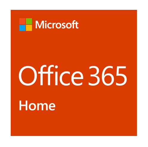 MICROSOFT 6GQ-01076 OFFICE 365 HOME 1YEAR(S) ENGLISH
