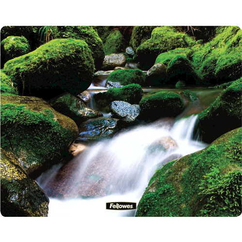 FELLOWES 58712 SQUARE BRITE MAT CASCADES