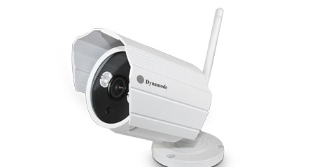 DYNAMODE DYN-628 IP SECURITY CAMERA INDOOR & OUTDOOR BULLET WHITE 1280 X 720PIXELS