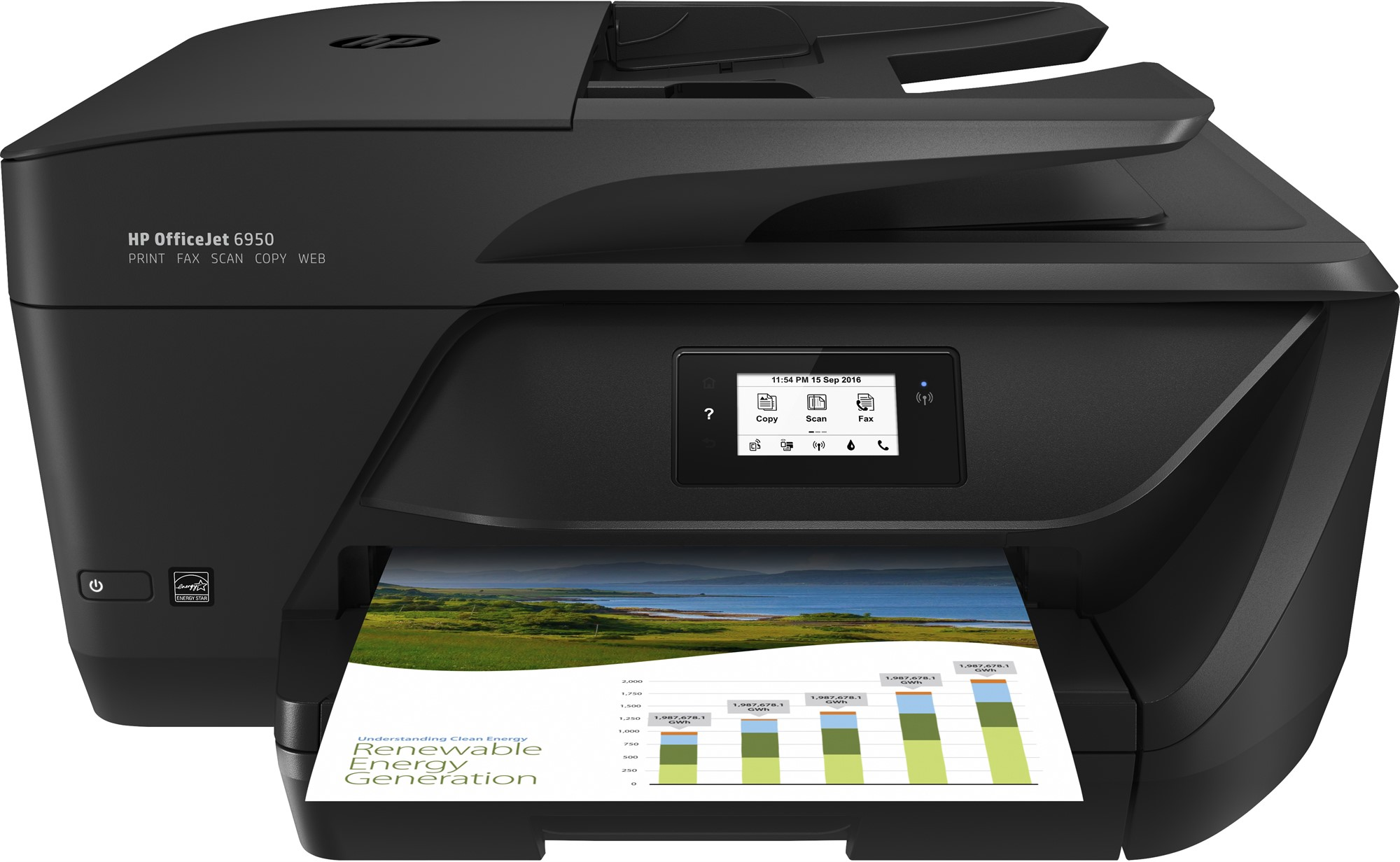 HP P4C85A#BHC OFFICEJET 6950 ALL-IN-ONE PRINTER