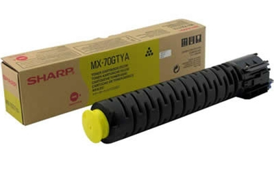SHARP MX70GTYA MX-70GTYA TONER YELLOW, 32K PAGES