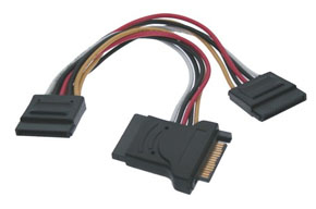 LINDY 33278 SATA POWER ADAPTER CABLE 0.15M