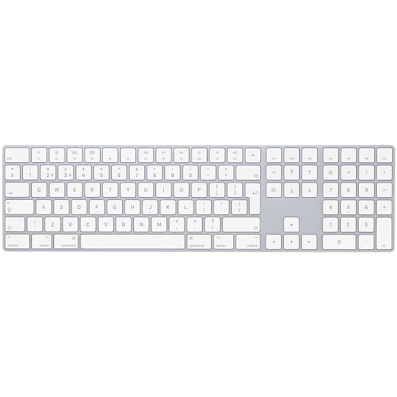 APPLE MQ052DK/A MAGIC BLUETOOTH QWERTY DANISH WHITE