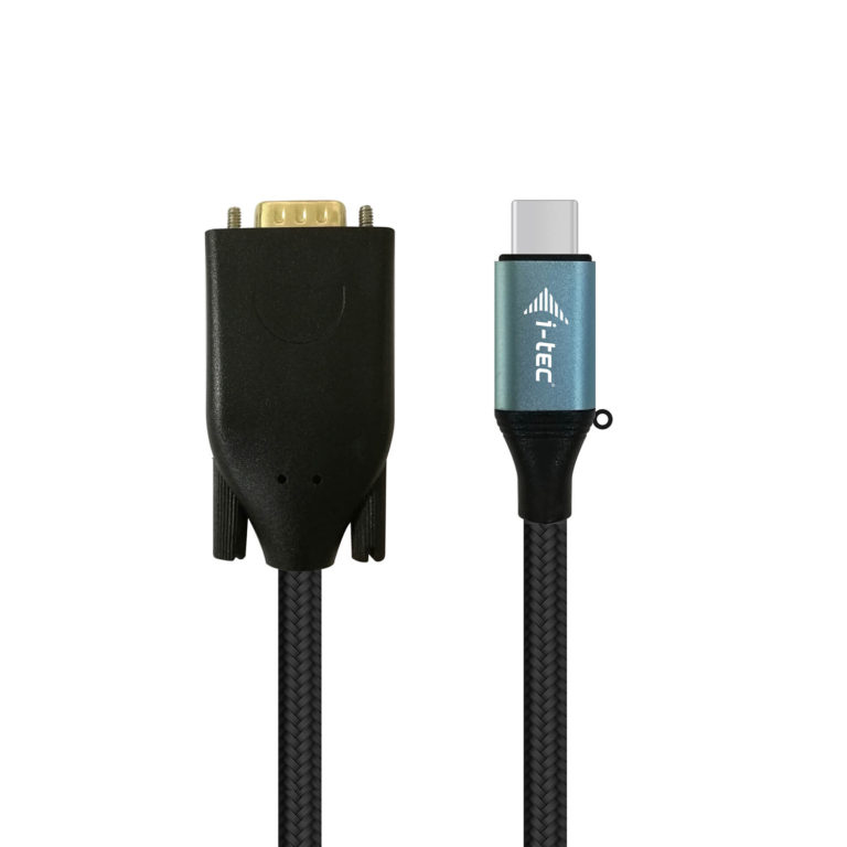 I-TEC C31CBLVGA60HZ USB-C VGA CABLE ADAPTER 1080P / 60 HZ 150CM INTERFACE/GENDER