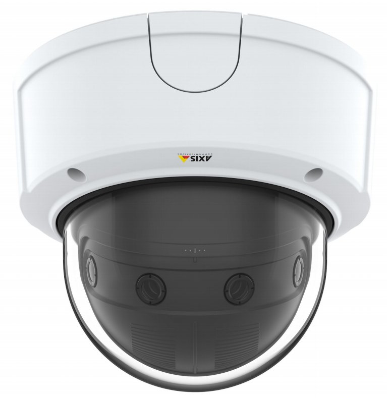 AXIS 01048-001 P3807-PVE IP SECURITY CAMERA OUTDOOR DOME BLACK, WHITE 4320 X 1920 PIXELS