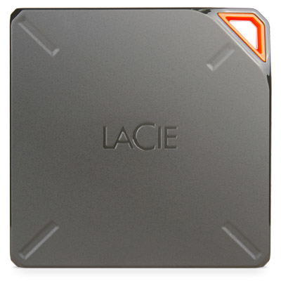 LACIE STFL1000200 FUEL EXTERNAL HARD DRIVE 1000 GB WI-FI BROWN