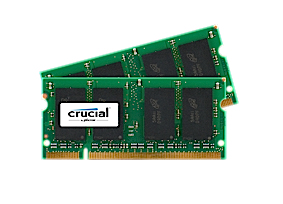 CRUCIAL CT2KIT25664AC800 4GB DDR2 SODIMM 800MHZ MEMORY MODULE