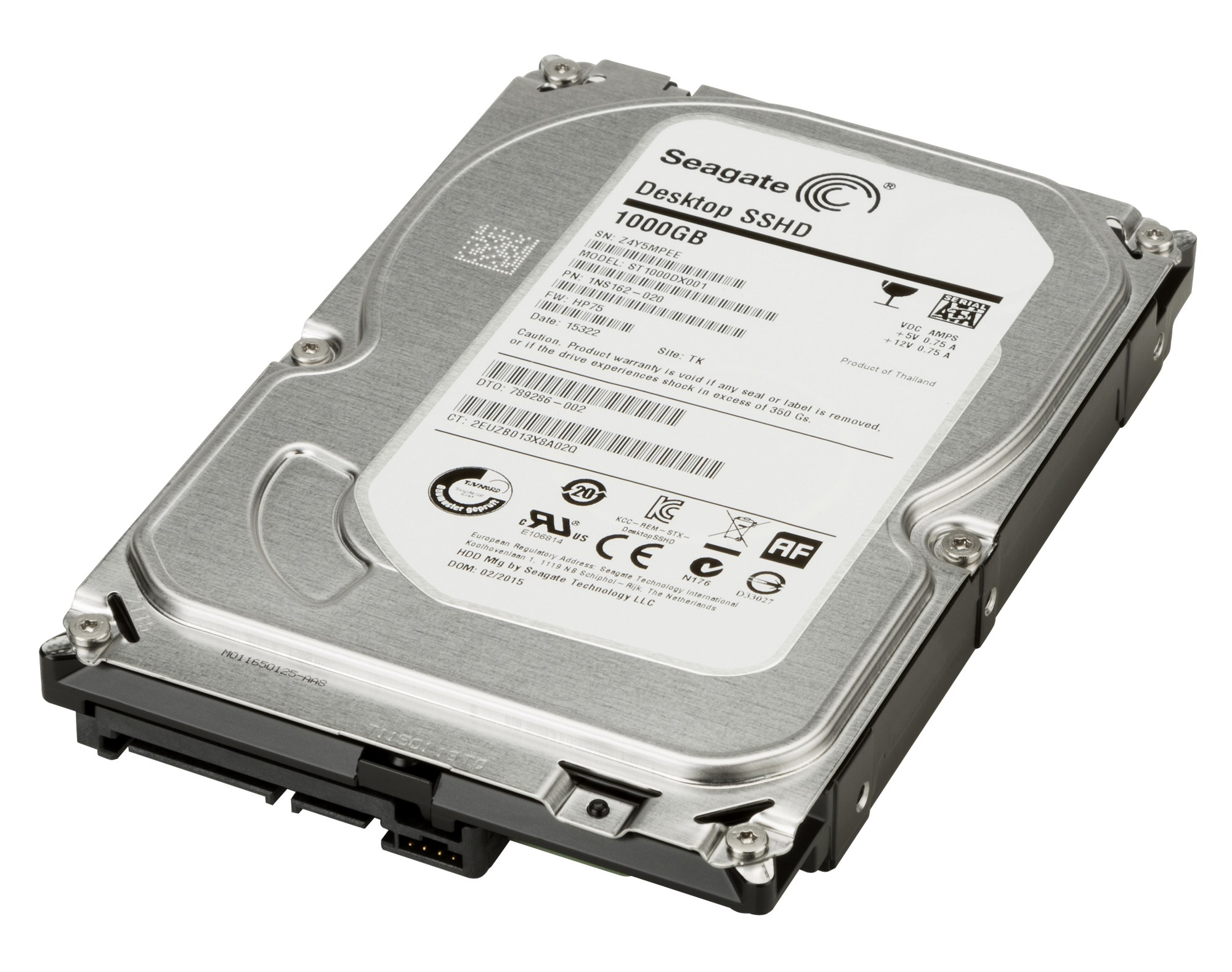HP LQ037AT 1TB SATA 6GB/S 7200 HARD DRIVE