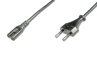 DIGITUS AK-440104-018-S POWER CABLE BLACK 1.8 M CEE7/16