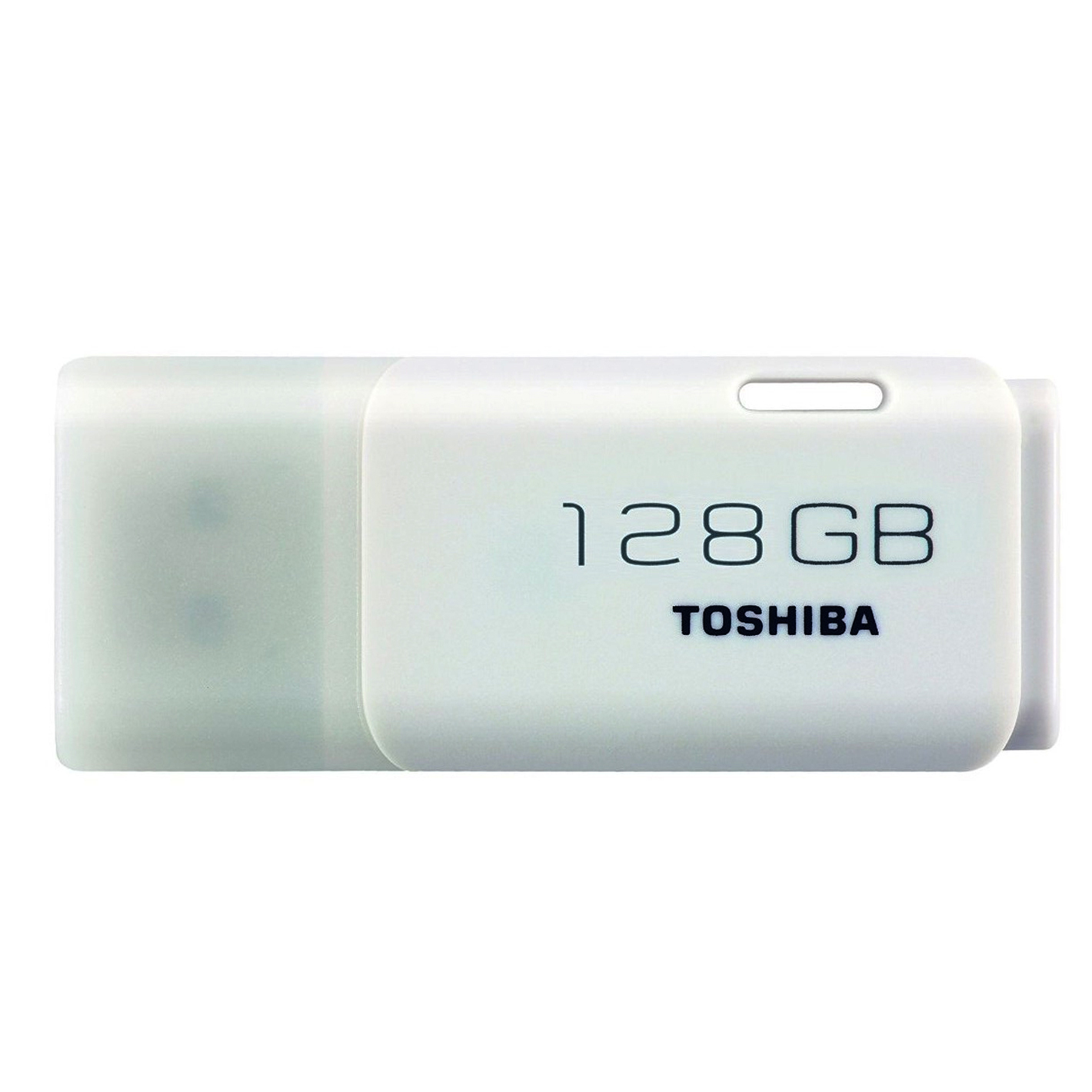 TOSHIBA THN-U202W1280E4 128GB USB 2.0 TYPE-A CONNECTOR WHITE FLASH DRIVE