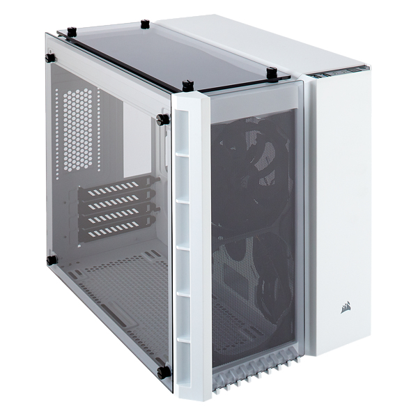 CORSAIR CC-9011136-WW CRYSTAL 280X COMPUTER CASE MICRO-TOWER WHITE