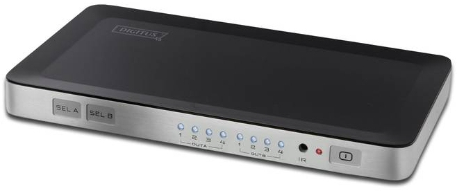 DIGITUS DS-48300 VIDEO SWITCH HDMI