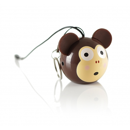 KITSOUND KSNMBMKY MINI BUDDY 2 W MONO PORTABLE SPEAKER BROWN