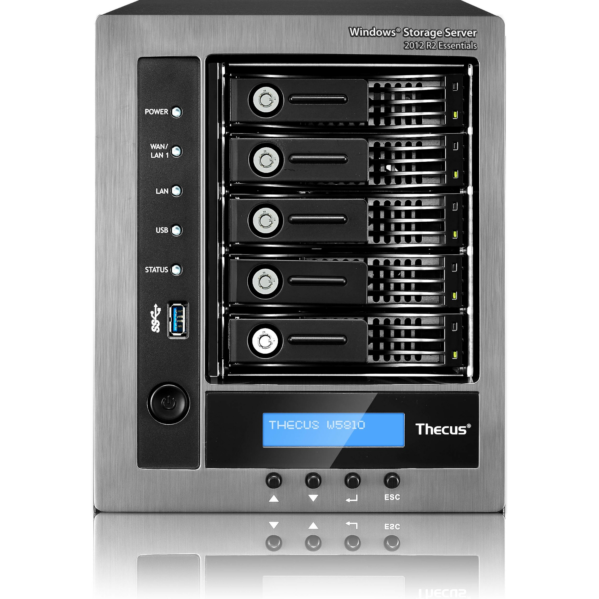 ORIGIN STORAGE W5810/8TB SERVER COMPACT ETHERNET LAN BLACK