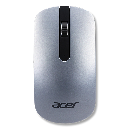 ACER NP.MCE11.00D RF WIRELESS OPTICAL 1200DPI RIGHT-HAND SILVER MICE