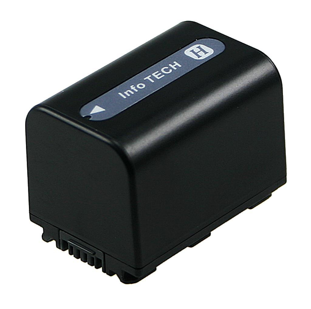 2-POWER VBI9700B CAMCORDER BATTERY 6.8V 1500MAH RECHARGEABLE