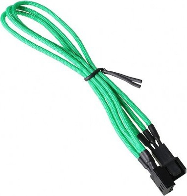 BITFENIX BFA-MSC-3F60GK-RP CABLE INTERFACE/GENDER ADAPTER 3-PIN BLACK, GREEN