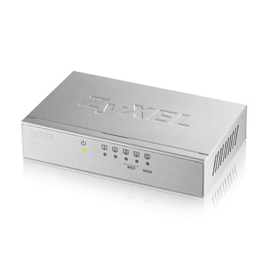 ZYXEL GS-105BV3-EU0101F GS-105B V3 UNMANAGED NETWORK SWITCH L2+ GIGABIT ETHERNET (10/100/1000) SILVER