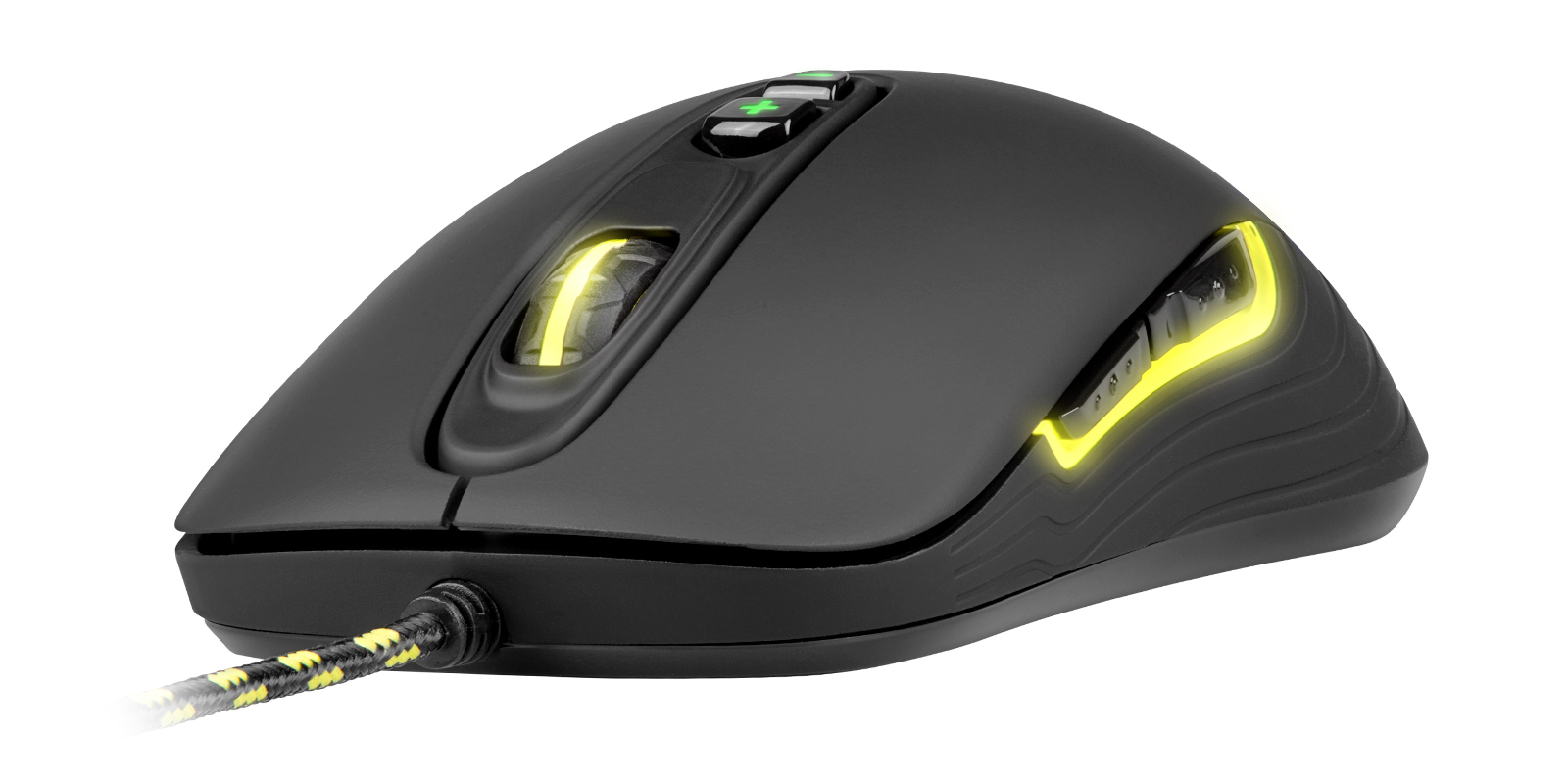 XTRFY XG-M2 M2 MICE USB OPTICAL 4000 DPI RIGHT-HAND BLACK