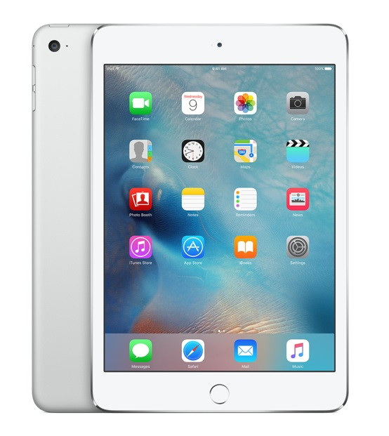 APPLE MK9P2FD/A IPAD MINI 4 128GB SILVER TABLET