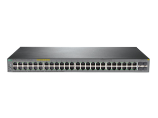 HPE JL386A OFFICECONNECT 1920S 48G 4SFP PPOE+ 370W MANAGED L3 GIGABIT ETHERNET (10/100/1000) POWER OVER (POE) 1U GREY
