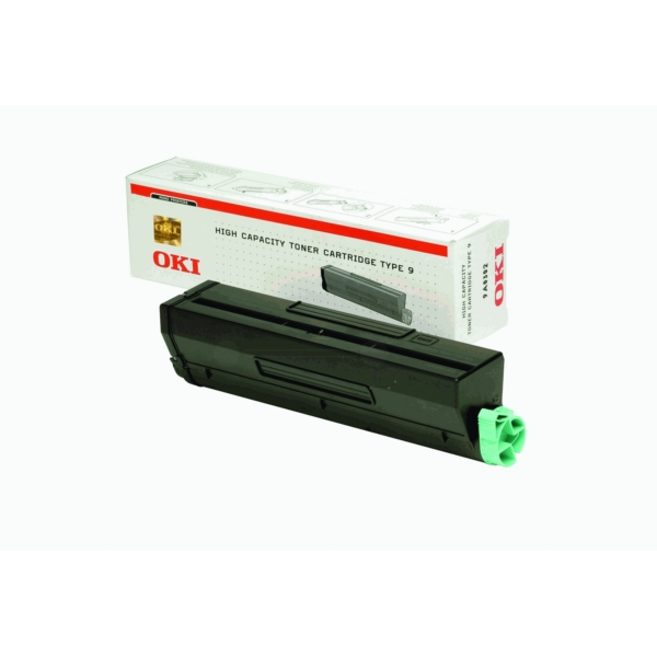OKI 1101202 01101202 (TYPE9) TONER BLACK, 6K PAGES @ 5% COVERAGE