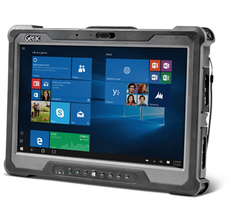 GETAC AE22YQDIXHBX A140 TABLET 6TH GEN INTEL CORE I5 I5-6200U 128 GB 4G BLACK, GREY