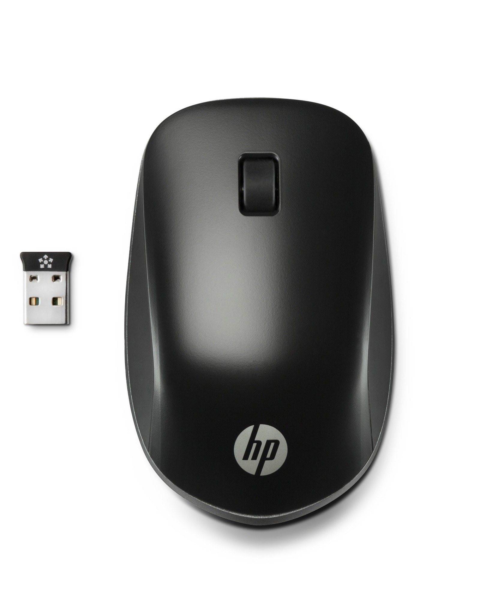 HP H6F25AA ULTRA MOBILE WIRELESS MOUSE RF 1200DPI AMBIDEXTROUS BLACK MICE