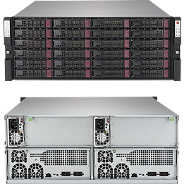 SUPERMICRO SSG-947R-E2CJB SUPERSTORAGE 947R-E2CJB RACK (4U) BLACK, GREY DISK ARRAY