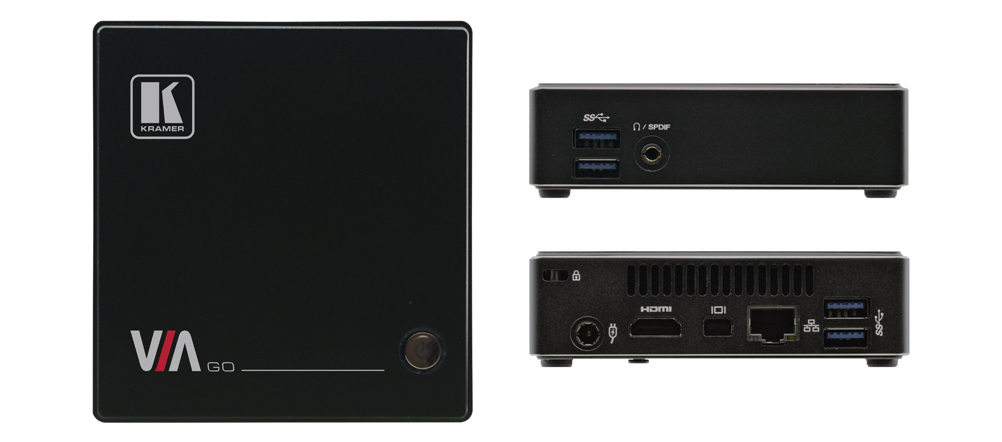 KRAMER ELECTRONICS VIA-GO VIA GO HDMI DESKTOP WIRELESS PRESENTATION SYSTEM