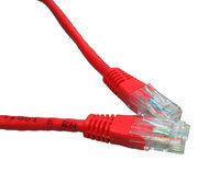 CABLES DIRECT 99TRT-600R CAT5E UTP 0.5M RED NETWORKING CABLE