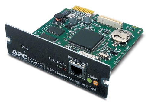 APC AP9617 UPS NETWORK MANAGEMENT CARD 100MBIT/S NETWORKING