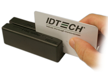 ID TECH IDMB-335133B MINIMAG II USB MAGNETIC CARD READER