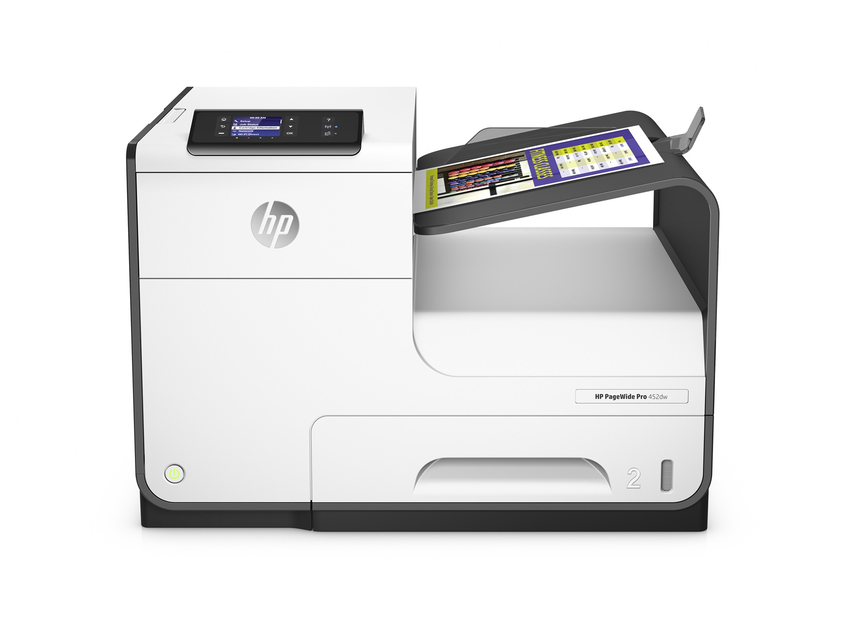 HP D3Q16B#A81 PAGEWIDE PRO 452DW COLOUR 2400 X 1200DPI A4 WI-FI INKJET PRINTER