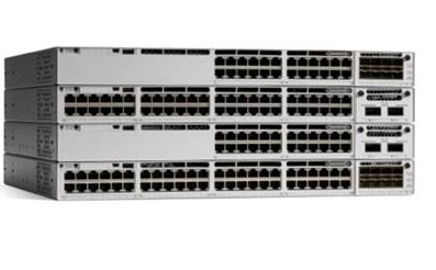 CISCO C9300-24U-E CATALYST MANAGED L2/L3 GIGABIT ETHERNET (10/100/1000) GREY NETWORK SWITCH