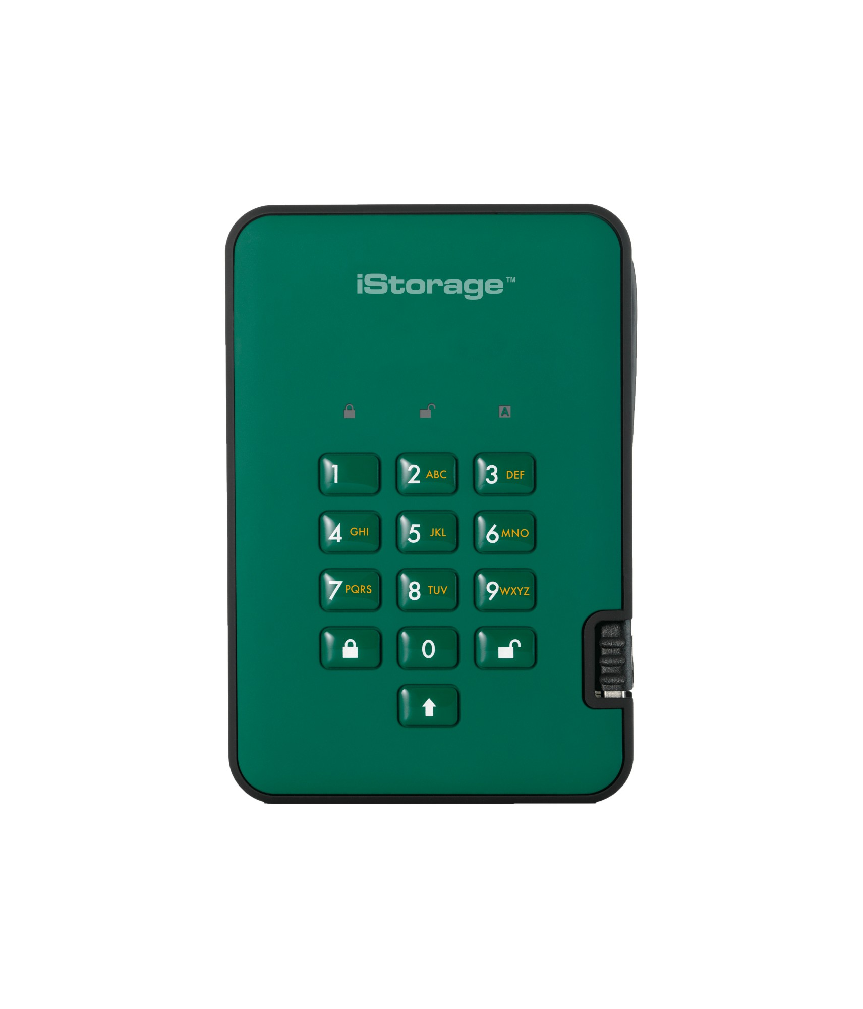 ISTORAGE IS-DA2-256-500-GN DISKASHUR 2 EXTERNAL HARD DRIVE 500 GB GREEN