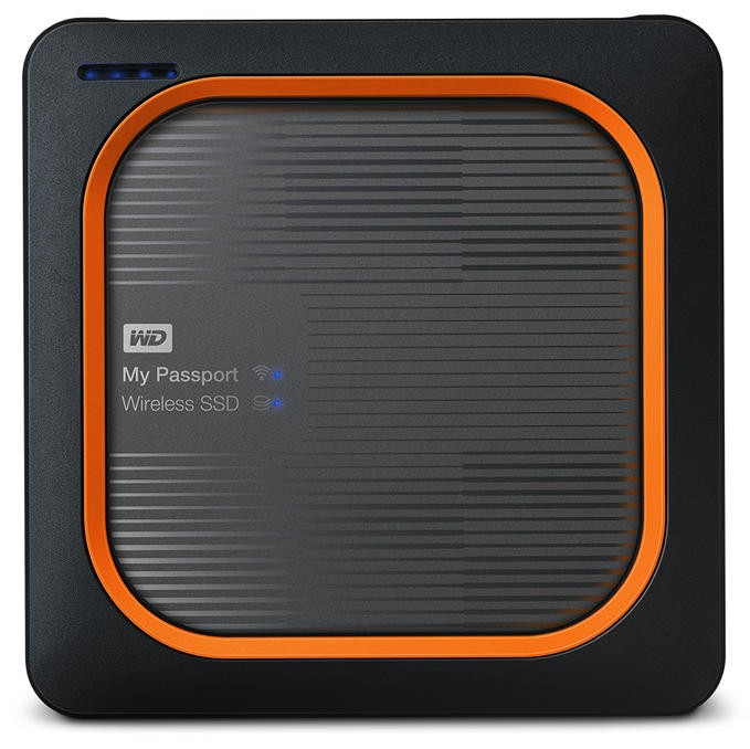 WESTERN DIGITAL WDBAMJ5000AGY-EESN MY PASSPORT 500 GB WI-FI GREY,ORANGE