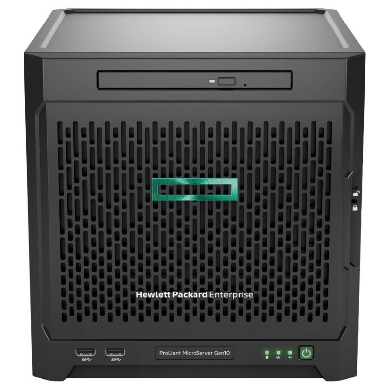HPE 873830-421 PROLIANT MICROSERVER GEN10 1.6GHZ X3216 200W ULTRA MICRO TOWER SERVER