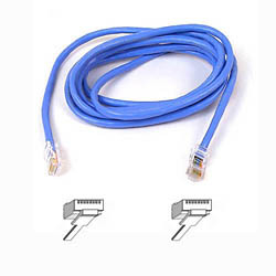BELKIN A3L791B01M-BLU CAT 5 PATCH CABLE 1M BLUE NETWORKING
