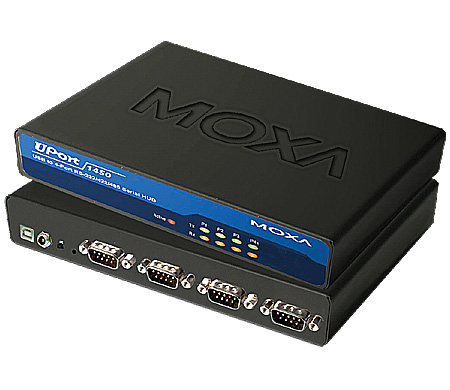 MOXA UPORT 1450 SERIAL HUB 480MBIT/S INTERFACE
