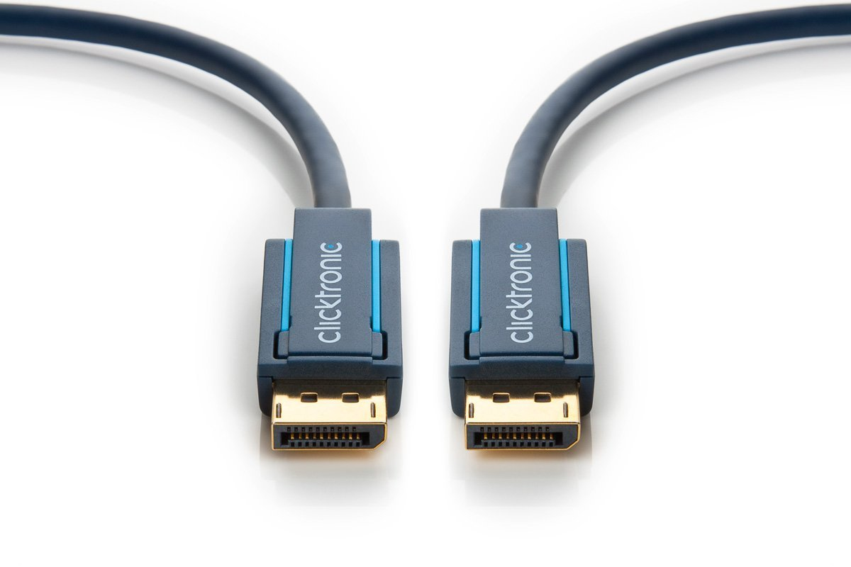 CLICKTRONIC 70710 DISPLAYPORT CABLE 1 M BLUE