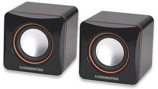 MANHATTAN 161435 2600 3W BLACK LOUDSPEAKER