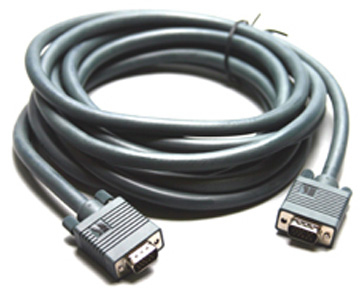 KRAMER ELECTRONICS C-GM/GM-15 15-PIN HD VGA CABLE 4.6 M (D-SUB) BLACK