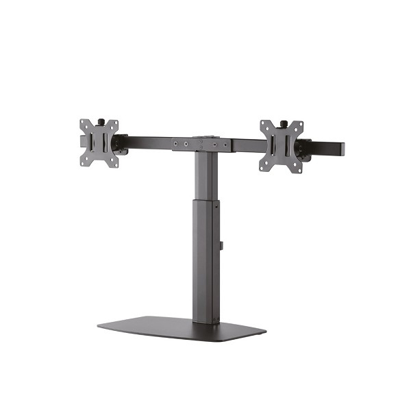 NEWSTAR FPMA-D865DBLACK TILT/TURN/ROTATE DUAL DESK MOUNT (STAND) FOR TWO 10-27