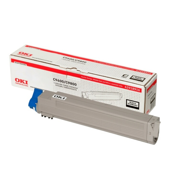 OKI 42918916 TONER BLACK, 15K PAGES @ 5% COVERAGE