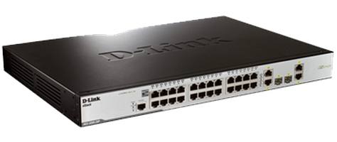 D-LINK DES-3200-28P DES-3200-28 MANAGED NETWORK SWITCH L2 POWER OVER ETHERNET (POE) 1U
