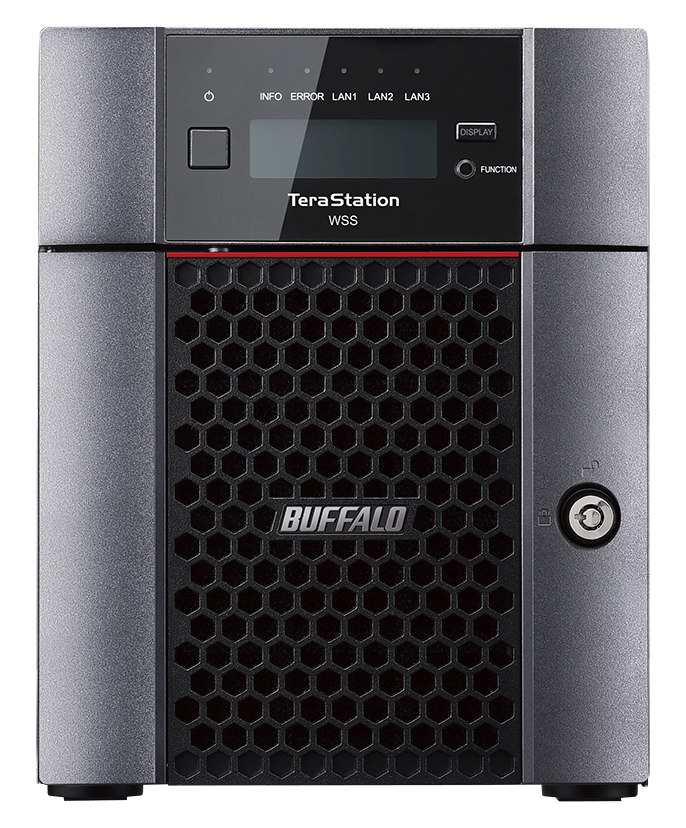 BUFFALO WS5420DN08W6EU TERASTATION WS5420DN ETHERNET LAN DESKTOP BLACK STORAGE SERVER