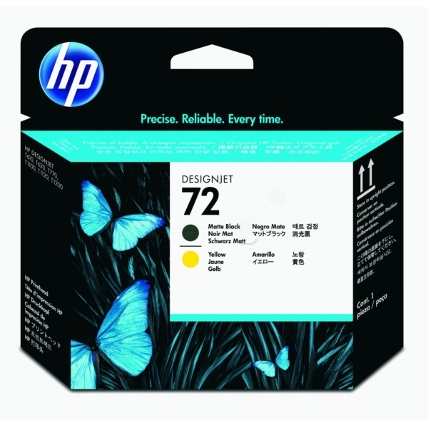 HP C9384A (72) PRINTHEAD BLACK MATT